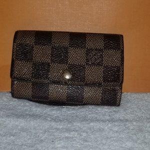 Handbags - LV keyholder 6 damier ebene authentic